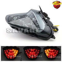 For HONDA CB300F CBR300R 2015 Motorcycle Accessories Integrated LED Tail Light Turn Signal Blinker Smoke High