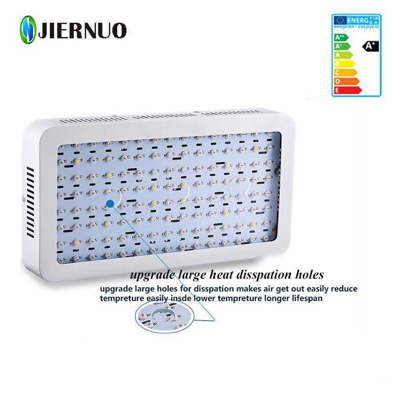 JIERNUO LED Grow Light 2000W 1200W 600W Mini Double Chips Plant LED Grow Lamp for plants Full Spectrum hydroponics LED Light BJ цена