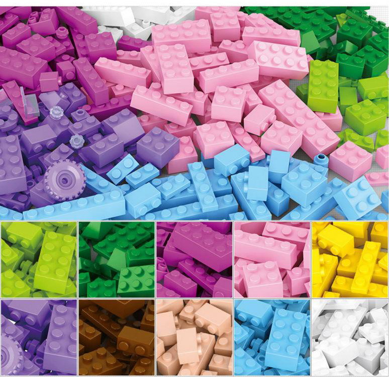 415pcs Building Blocks DIY Creative Bricks Toys for Children Educational Bricks Leping Compatible Free Shipping 80pcs set building blocks diy creative bricks toys for children educational compatible mini blocks bricks