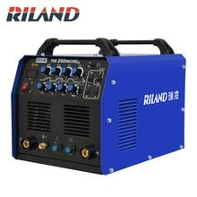RILAND однофазный 220V AC/DC импульсный аппарат аргоновой дуговой сварки TIG 250PAC/DC Многофункциональный TIG сварочный аппарат