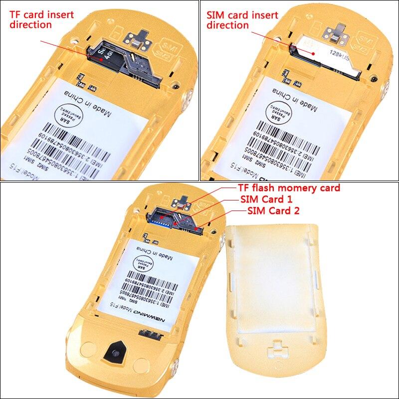 Newmind F15 Flip ontgrendeld MP3 MP4 FM-zaklamp Dual SIM-kaarten - Mobieltjes - Foto 5
