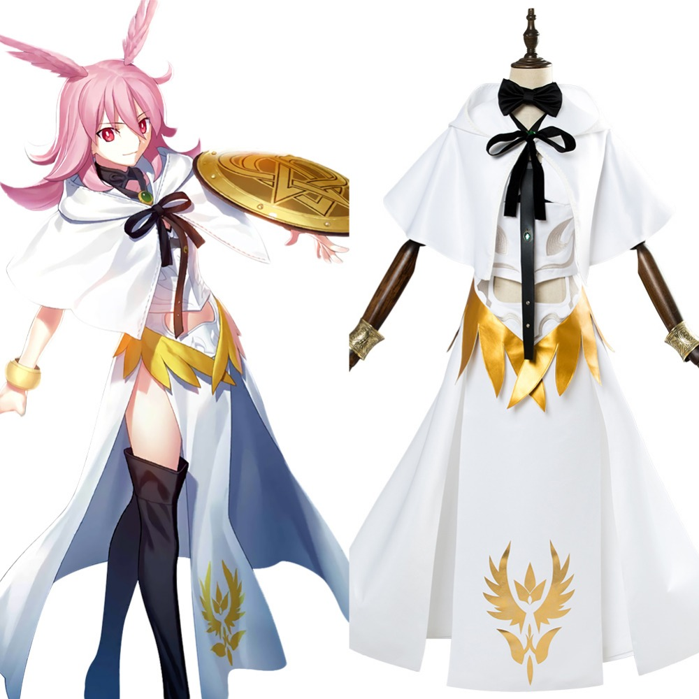 Fate Grand Order Cosplay Lancer Valkyrie Hild Cosplay Costume Adult Women Dress Uniform Suit Halloween Carnival Costumes