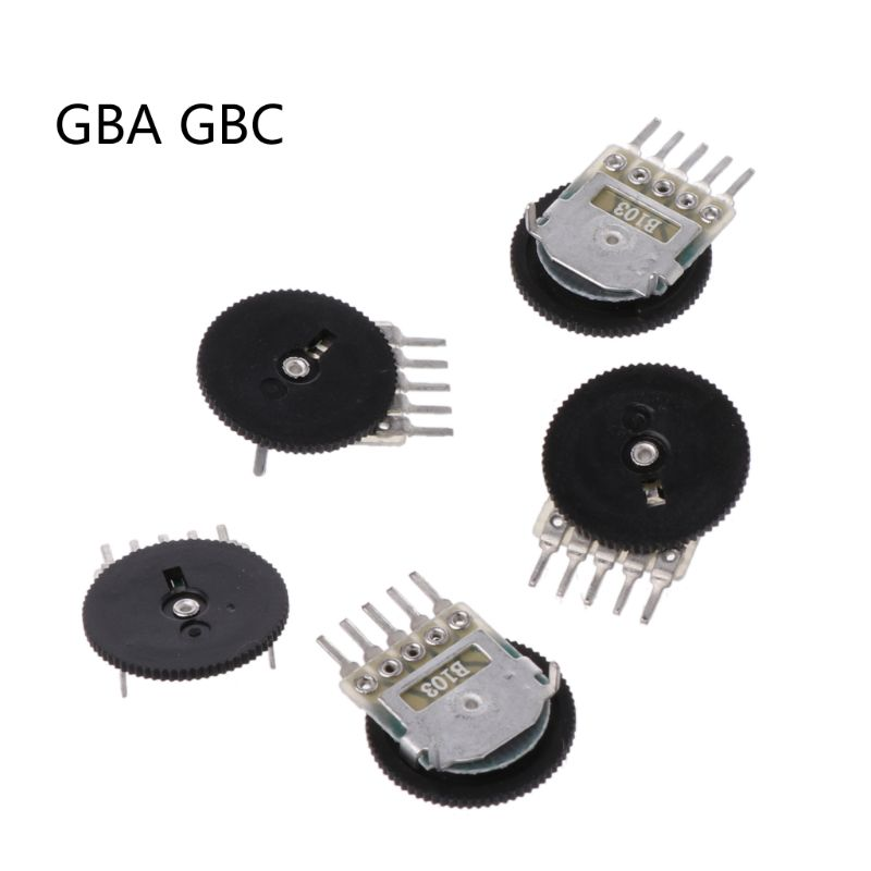 5Pcs Replacement Volume Switch For Game Boy GB GBA GBC Motherboard Potentiometer