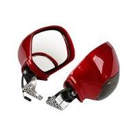 Pair Rear View Mirror W/Turn Signal for Honda Goldwing GL1800 2001-2012 03 04 05 2