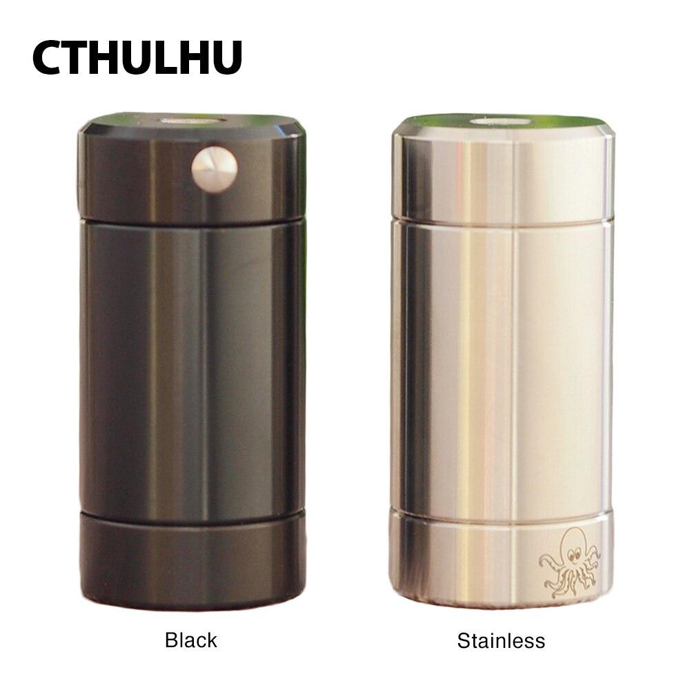 MOD de Tube Cthulhu d'origine boîte Semi-mécanique Mod double puce MOSFET e-cig Vape Mod Semi-mécanique Vs Dovpo côté supérieur/Dejavu Mod