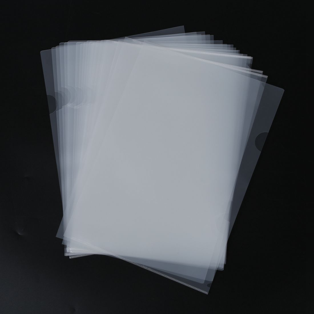 20 Pcs Reuseable Clear File Folder Holder for A4 Paper Document