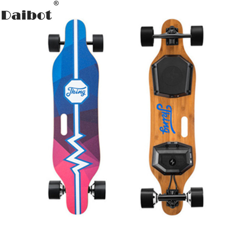 Daibot Adult Electric Scooter Electric Scooters 450W Hub Double-Drive Motor Portable 4 Wheels Electric Skateboard