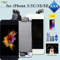 Full Assembly Replacement For IPhone 6 LCD Ecran Touch Glass Screen Digitizer For IPhone 5s Display