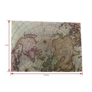 Image 5 - 100 Stks/partij Retro Europese Kaart Stijl Zwavelzuur Venster Envelop Brief Uitnodiging Wenskaarten Cover 110*155Mm Groothandel