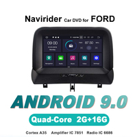 ELANMEY advanced gps navigation For FORD Tourneo car accessories android 9.0 CAR DVD multimedia radio stereo bluetooth