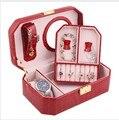 Free Shipping Fashion Makeup Box Professional Storage Beauty Box Travel Cosmetic Organizer Carry Case