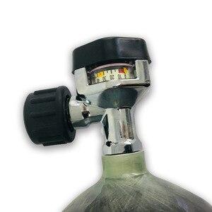 Image 2 - AC921 مسدس Airgun لالرماية التكتيكي 4500PSI Hpa خزان الألوان m4 Airsoft M18 * 1.5 صمام أسود Airsoft بندقية الهواء G5/8 صمام