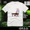 Forrest Gump 2017 nuevo diseño de manga corta camisetas de alta calidad camiseta 100% algodón freeshipping hombres camiseta visitante s top