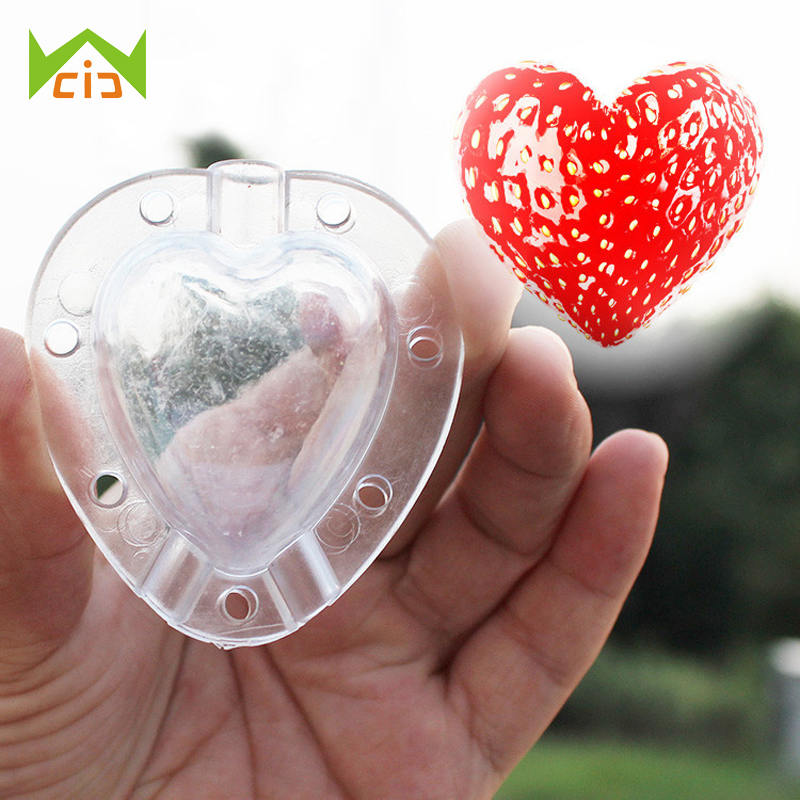 5PCS Heart Star Shape Cucumber Watermelon Growth Forming Mold Vegetable Fruit Growth Shaping Mould форма для нарезки арбуза