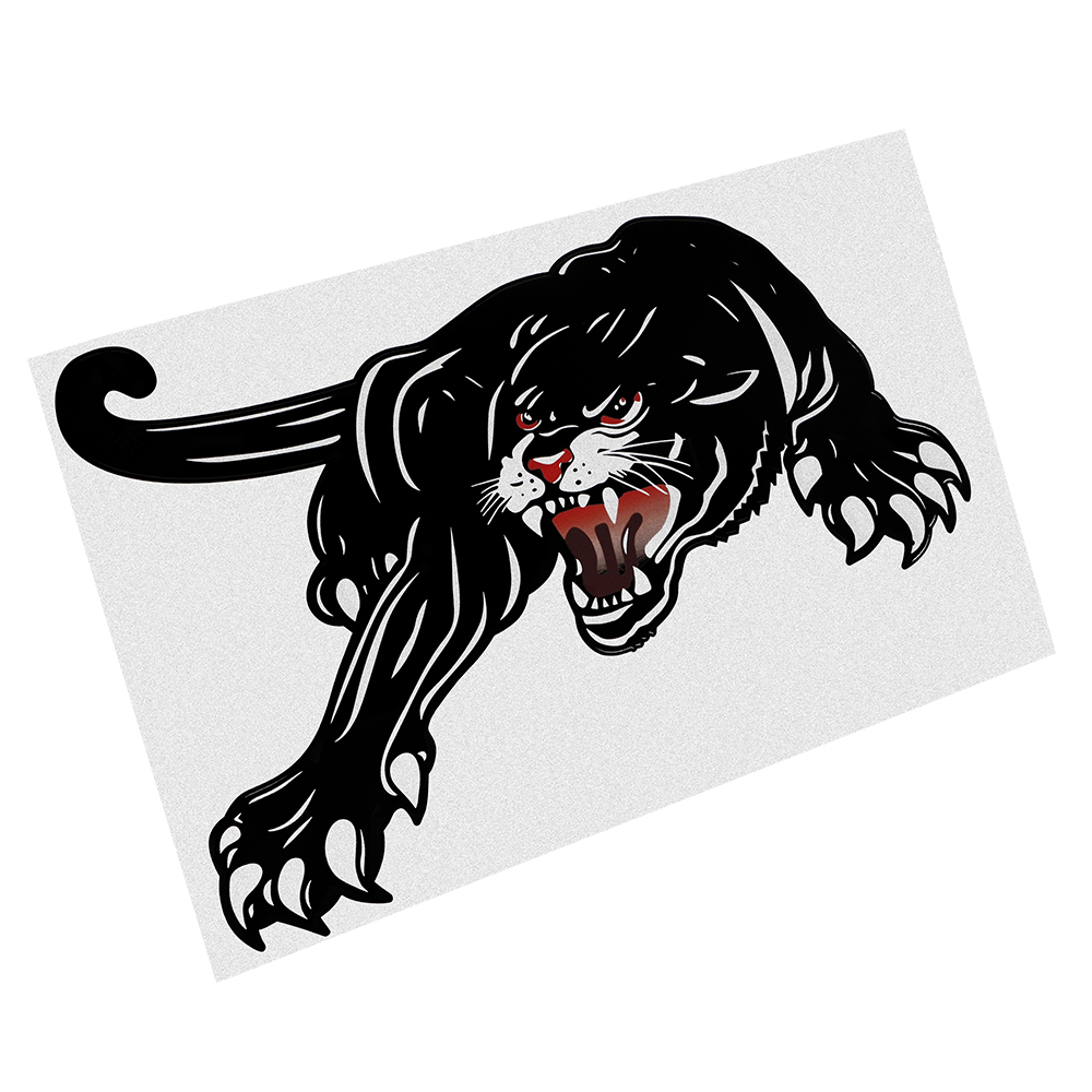 Image 3 - FORAUTO 45*28cm Car Stickers Vinyl Tiger Auto Sticker For Door Creative Decals For Car Hood Decoration Car Styling Accessories-in Car Stickers from Automobiles & Motorcycles