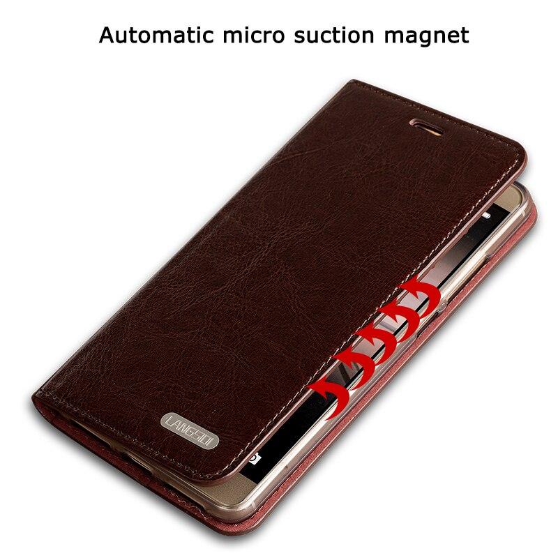 Étui de téléphone pour xiaomi mi mi X 2 S Note 3 mi X 2 Max 3 mi 8 8se étui de téléphone pour xiaomi 8se en cuir véritable de marque