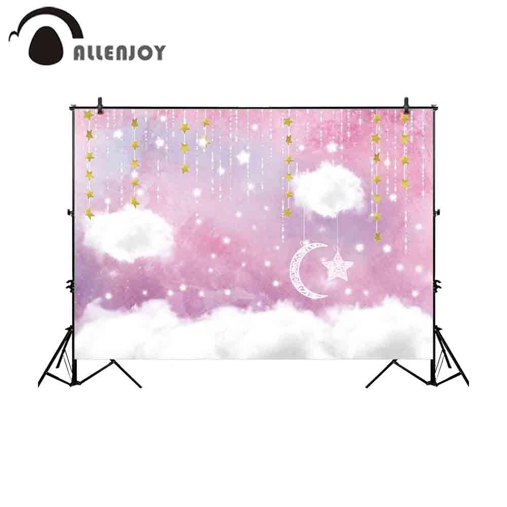 Allenjoy Ritratto Sfondo Porta Di Colore Rosa Pastello Di Colore