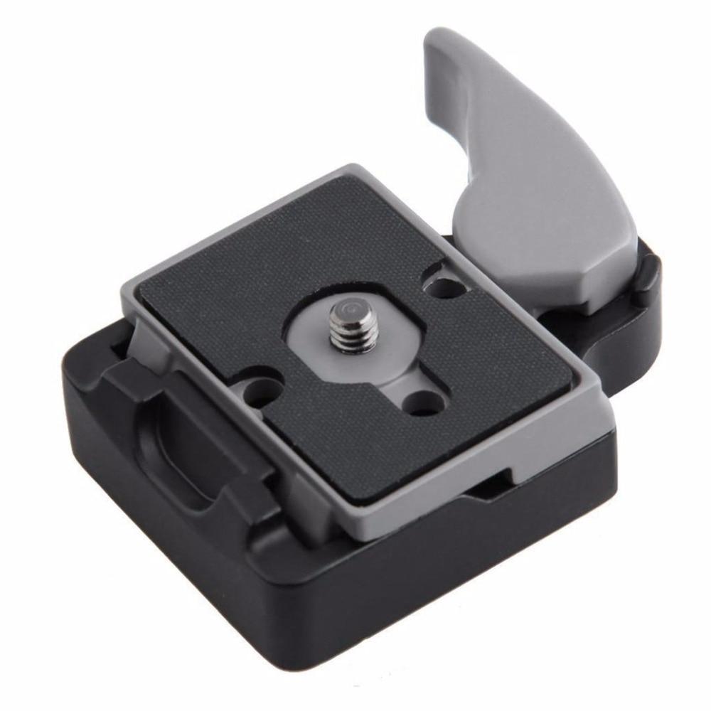Camera Tripod Monopod Clamp Adapter Quick Release Clamp Adapter + 200PL-14 Quick Release Plate For Manfrotto Compat Plate
