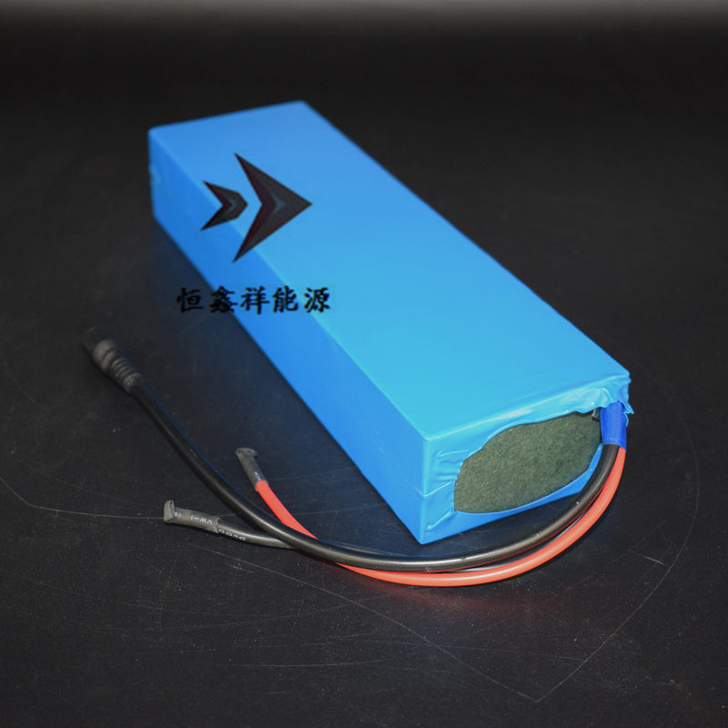 HXX 24V8Ah Battery Pack BMS Built 18A Lithium-ion 18650 Cell 7 Series Bare PVC for 24V Alarm Scooter Car Video Battery Customize hdx t 8 bms