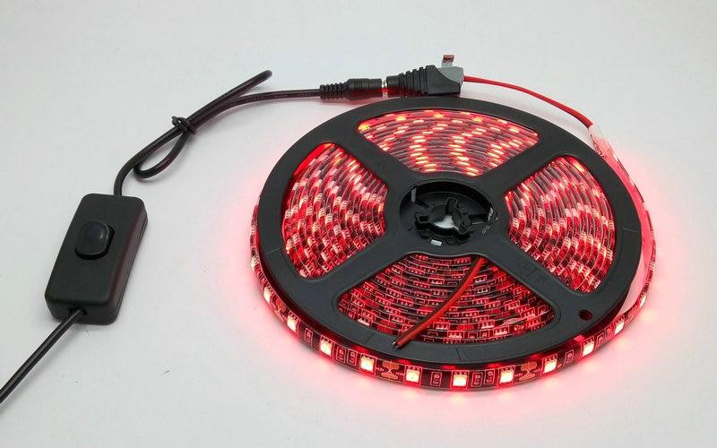 IP20 / IP65 Suya davamlı 5M Qara PCB 5050 LED Strip İşıq Dəsti - LED işıqlandırma - Fotoqrafiya 6