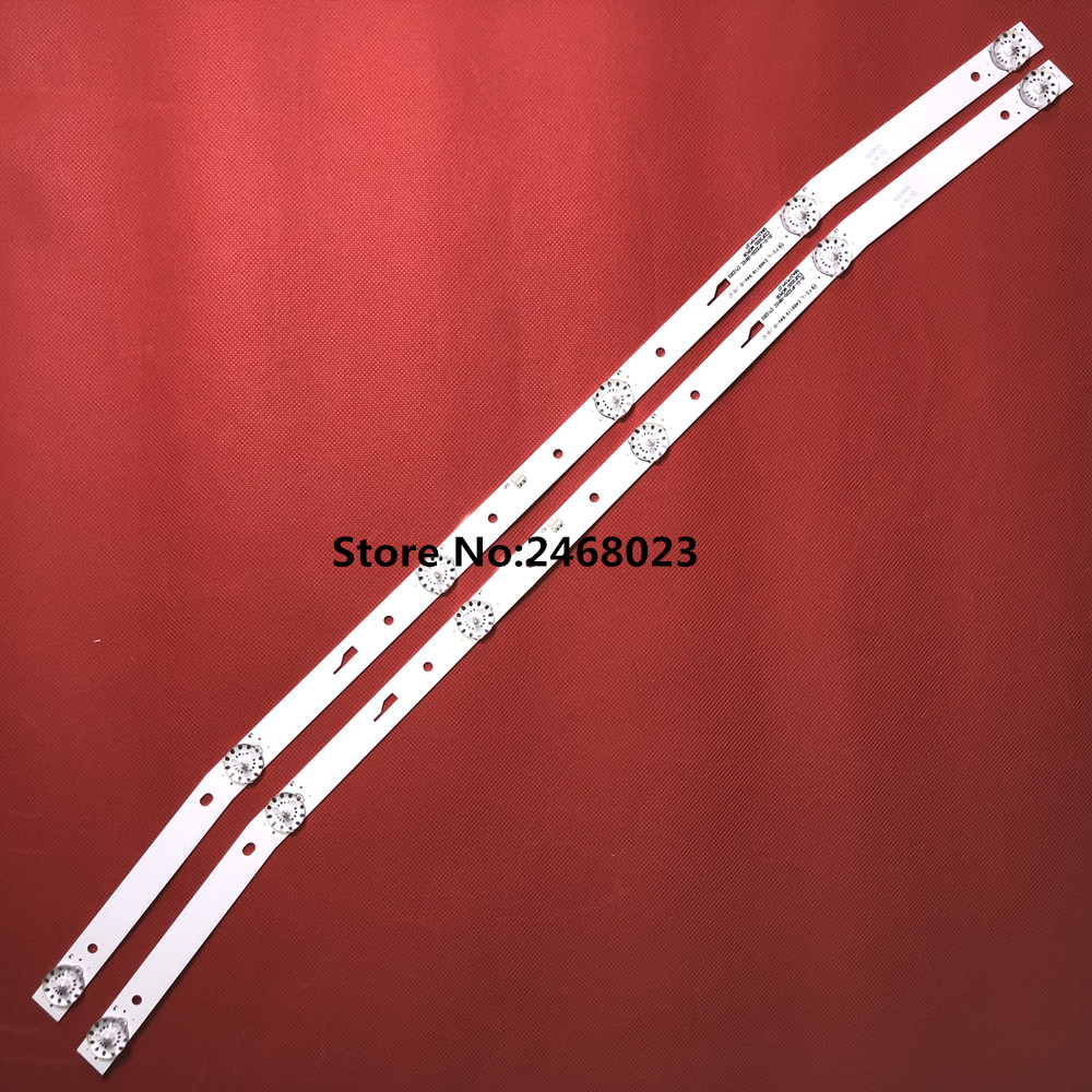 LED blaklight strip 6 lamp For AKAI JS-D-JP3220-061EC E32F2000 MCPCB AKTV3222 NUOVA ST3151A05-8 V320BJ7-PE1 AKTV3212 AKTV3216
