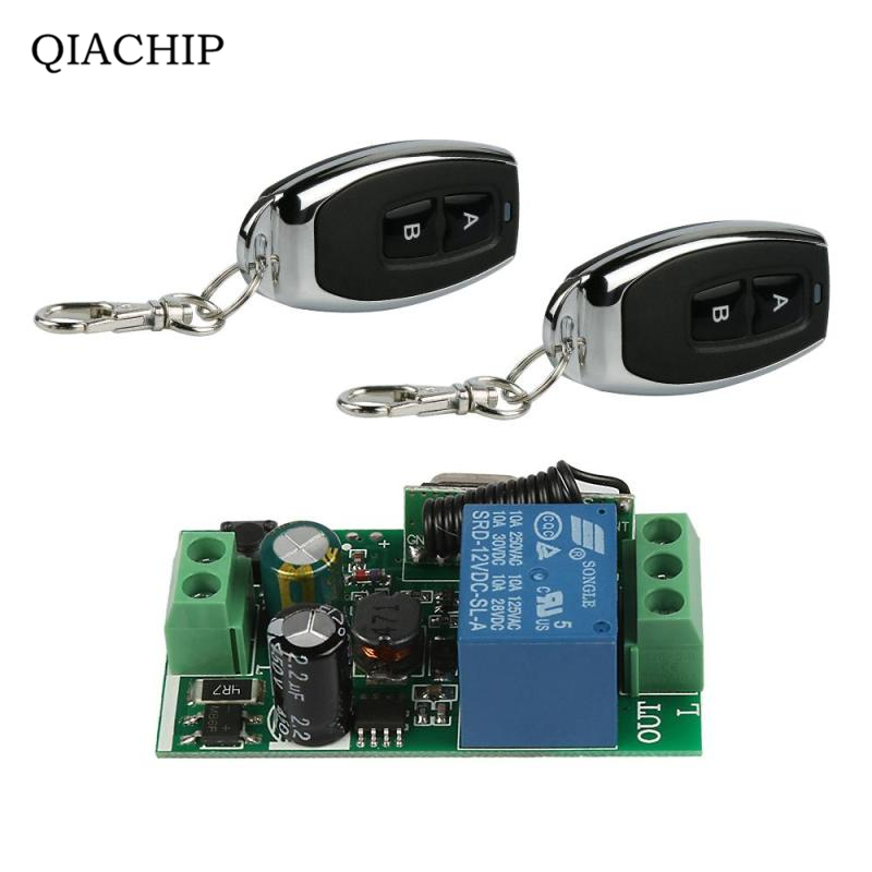 433Mhz Universal Wireless Remote Control Switch AC 110V 220V 1CH Relay Receiver Module and RF 433 Mhz Transmitter Remote Control dc 12v 1ch 433 mhz universal wireless remote control switch rf relay receiver module and transmitter electronic lock control diy