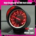 Dayo DF BF 60 мм автомобильный высокое качество BF вольт манометр с красный и белый свет