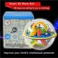 158 pasos inteligente 3D laberinto escolar bola de inteligencia competencia adult Games herramientas intelecto mágico equilibrio placa lógica capacidad de juguete rompecabezas