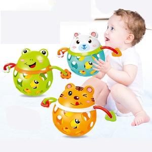 0-12 Months Baby Rattles toy I