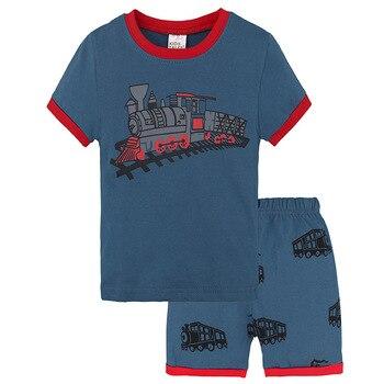 f0344d16c 6 diseño 2-7 T ropa de verano de los niños de la casa de servicio traje ...