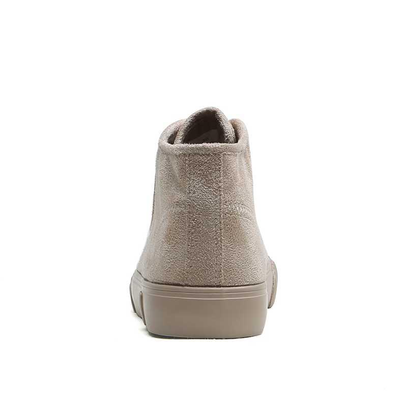 Kış Ayakkabı Kadın Akın Kar Botları Platformu Sıcak Fleeces Klasik Yüksek Üst Yuvarlak Ayak Düz rahat ayakkabılar Botları