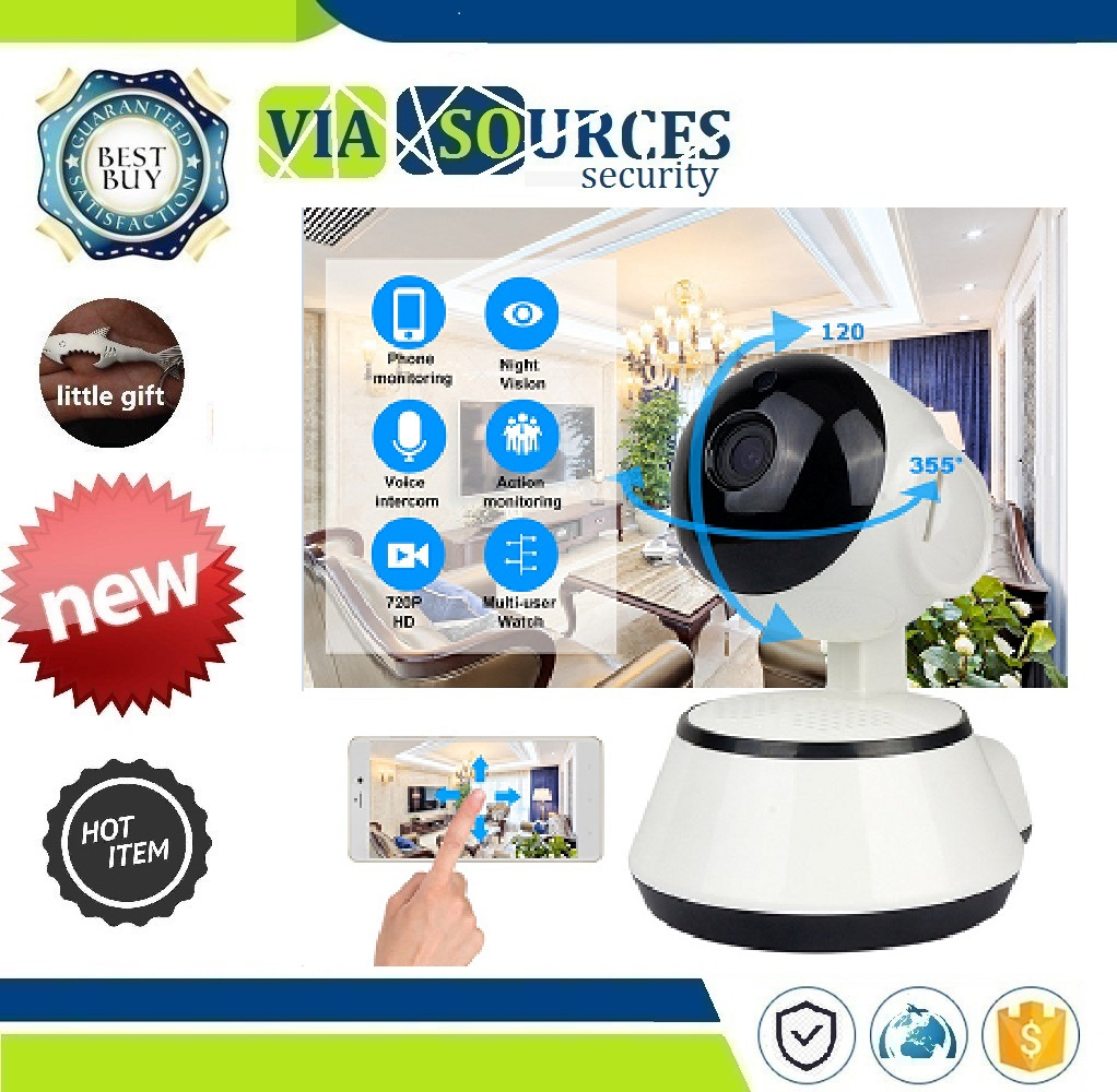Wireless Smart Baby Camera Audio Video Record Surveillance Home Security Camera Baby Monitor Portable WiFi IP Camera 720P HD image
