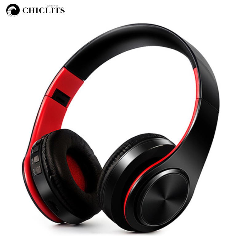 Chiclits Wireless Headphones Bluetooth Headset Stereo Foldable Sport Earphone Microphone headset Handfree MP3 player for iphone наушники sennheiser rs120 8 ii