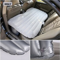 2017 (gray) Universal SUV Car rear seat bed Travel colchoneta inflable Mattress car bed for outdoor camping Cushion flocking