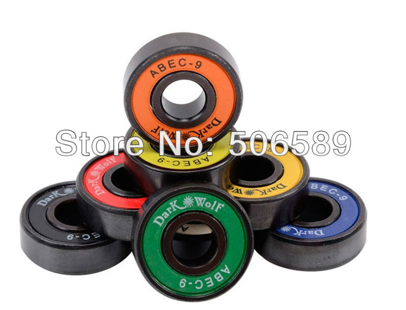 Free Shipping Bearings Chrome Steel Super Fast Long Lasting ABEC-9 8pcs/box  22*7mm
