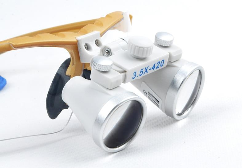 Здесь продается  3.5X420mm Oral and Dental whitening observation magnifier Loupes Binocular Galileo Magnifiers Lens Glasses magnifier  Красота и здоровье