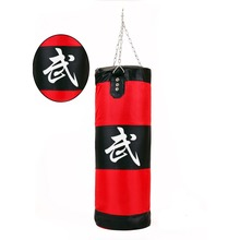 Hot 100cm Training MMA Fighter Boxing Bag Hook Kick Sandbag Fight Sand Punch Pun