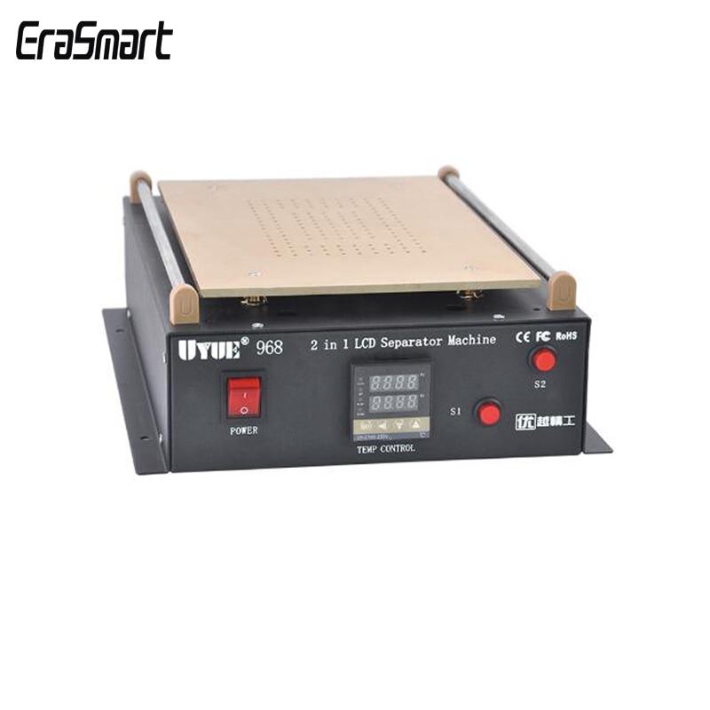 UYUE 968 Build-in Dual Vacuum Pump 14 Inch Separating Machine For iPad Samsung Tablet PC LCD Separator Screen Repair Machine
