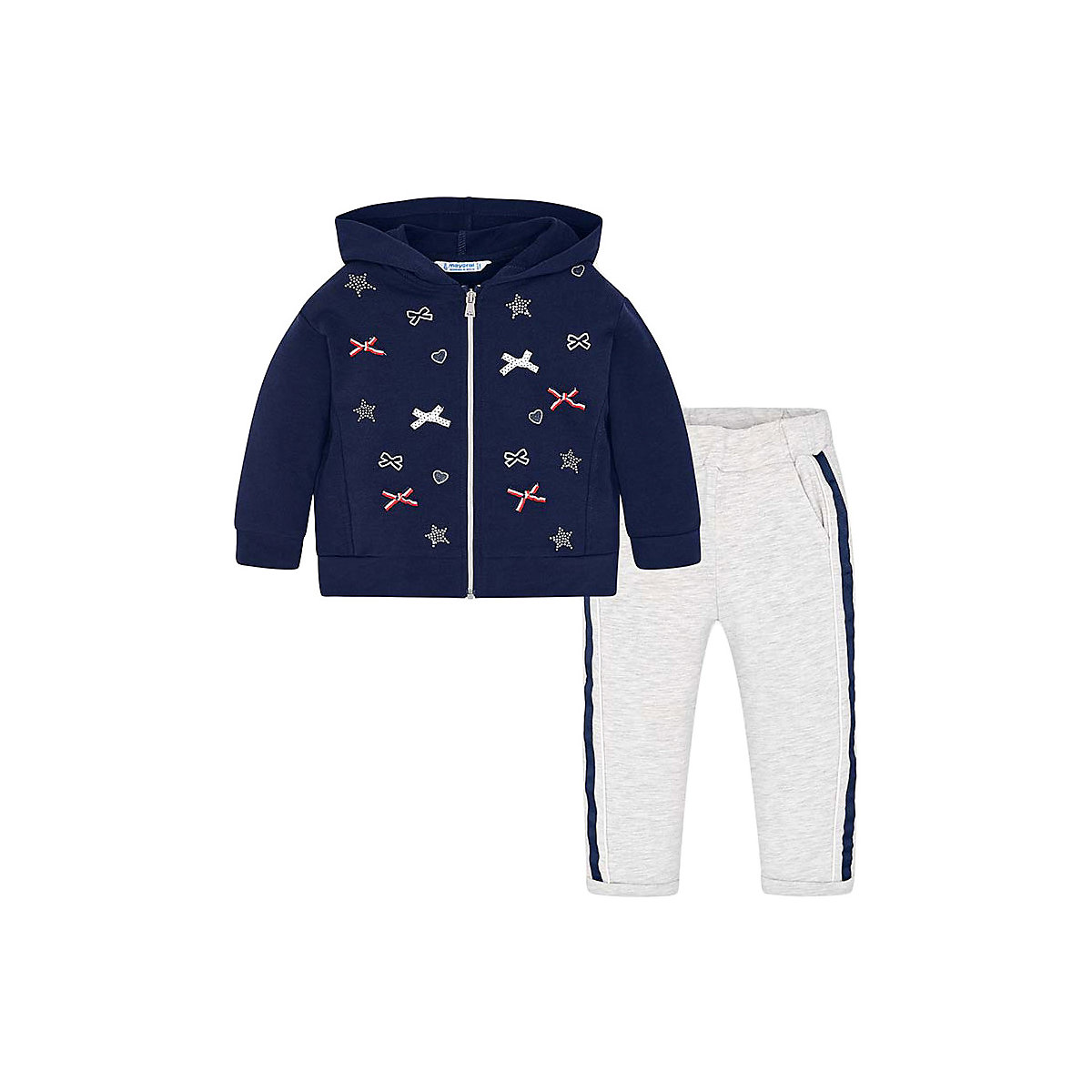 Children Two-Piece Suits Mayoral 10690717 Children Sportswear Accessories costumes for the child hollow out two piece dress