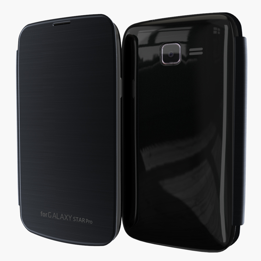For Samsung Galaxy Star Pro S7260 S7262 Lurucy Thin Flip ... Galaxy Star Pro Cover