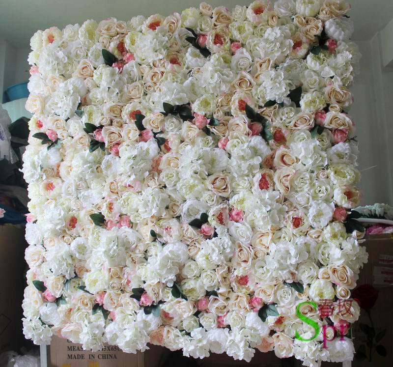 SPR Free Shipping higher quality factory wholesales flower wall for - Festive and Party Supplies