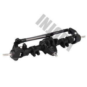 Image 2 - INJORA 1:10 RC Crawler Complete Differential Axle for Axial SCX10 II 90046 90047 RC Car Upgrade Parts