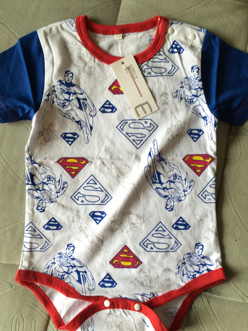 2016 Newborn Baby Boy Clothes Ropa Bebe Cotton Short Sleeve Superman Baby Rompers Baby Costume Batman Birthday Baby Body Clothes | Happy Baby Mama
