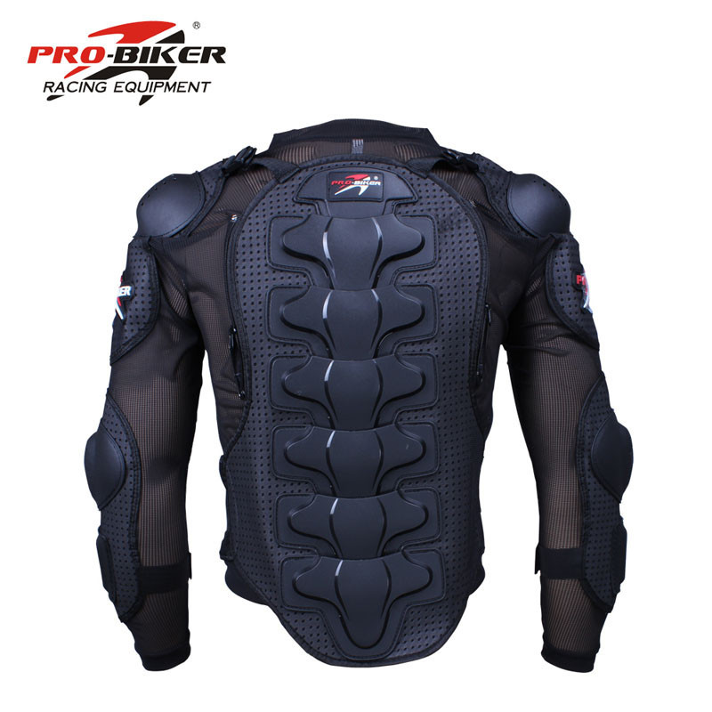 Pro-Biker Motorcycle Protective Armor Gear Jacket Full Body Armor Cloth Motocross Turtle Back Protection Motorcycle Jackets