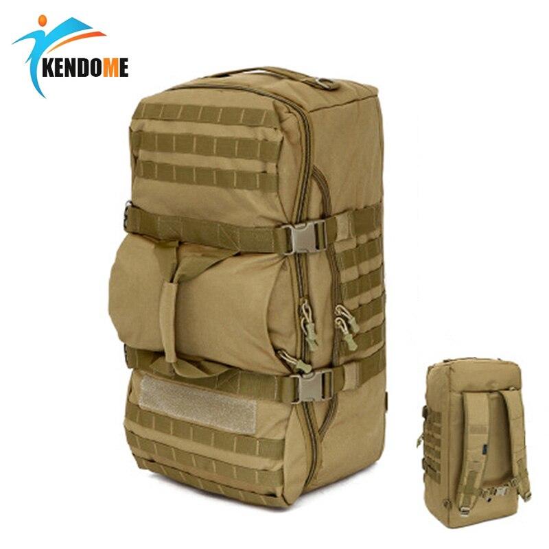 60L militaire tactique sac à dos grande capacité multi-fonction hommes sacs à dos étanche en Nylon sac à bandoulière sac à dos de voyage