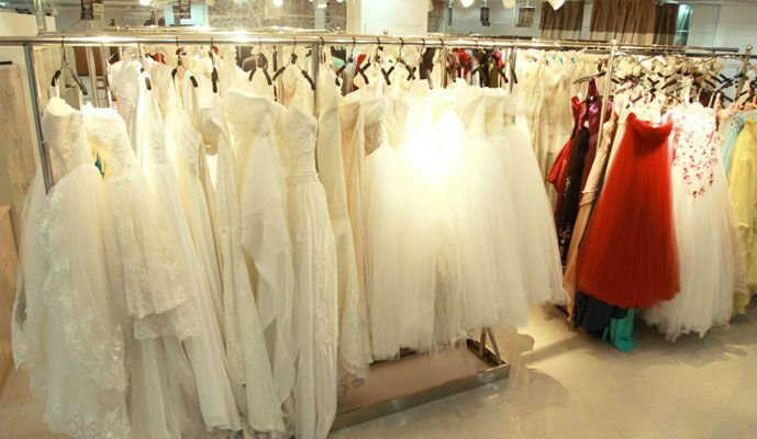 vestido long Evening Dress with three quarter sleeve formal gown 2015 new arrival v-neck a-line elegant prom dresses crystal
