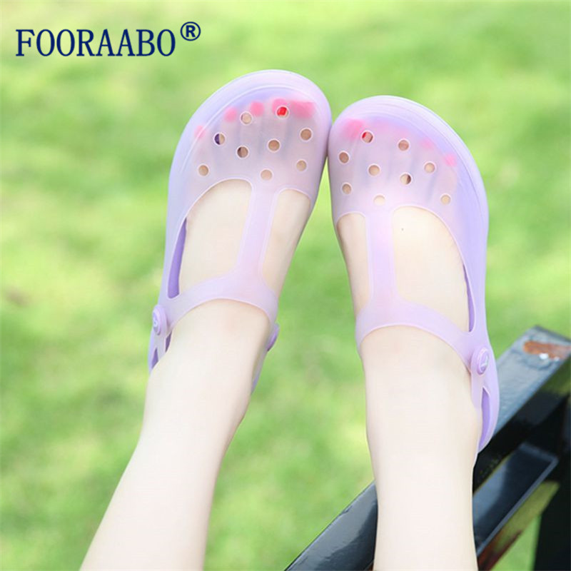 New Arrival 2017 Summer Women Clogs High Quality Multicolor Garden ...