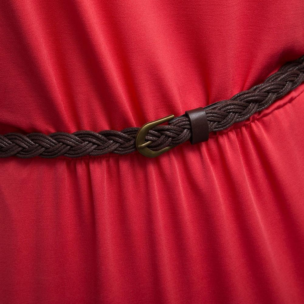VESTLINDA Vintage Vestidos Longo Jurken Women Maxi Dress Full Sleeve Casual Dress Autumn A Line Solid Ropa Mujer Long Dress 17