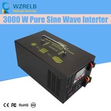 Micro grid tie inverter 12V/24V 3000W Peak Power Inverter Voltage Convertor Transformer 48V Automatic Adaptable цены онлайн