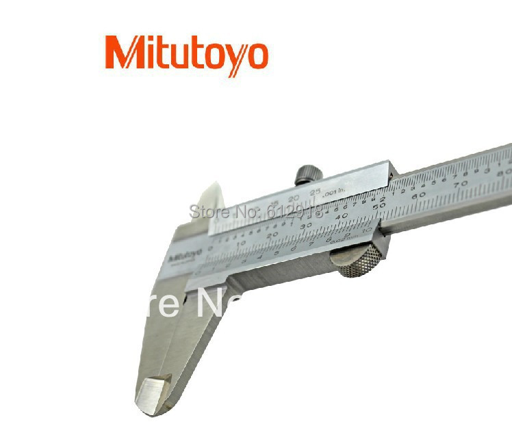 Japan 530-312 Mitutoyo Vernier Caliper Metric Inch Range 0-150mm 0-6in 0.02mm